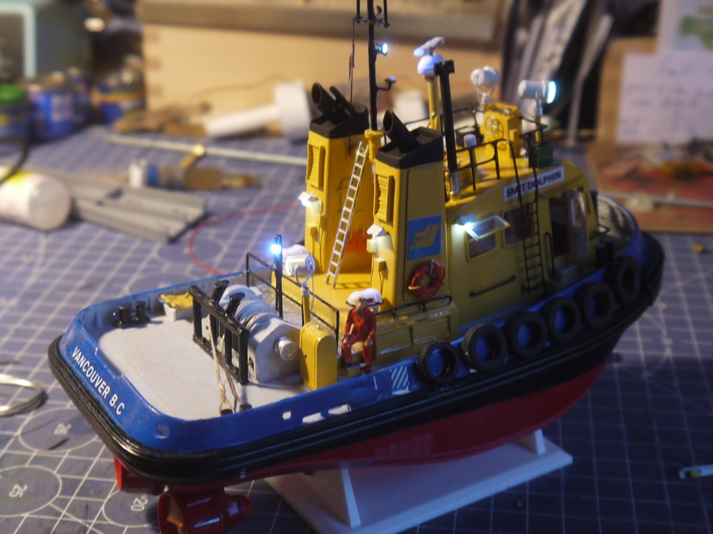 """""""Smit"""" Pacific Tugboat RC 1:87 P1090618"""