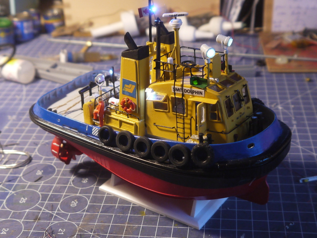 """""""Smit"""" Pacific Tugboat RC 1:87 P1090620"""