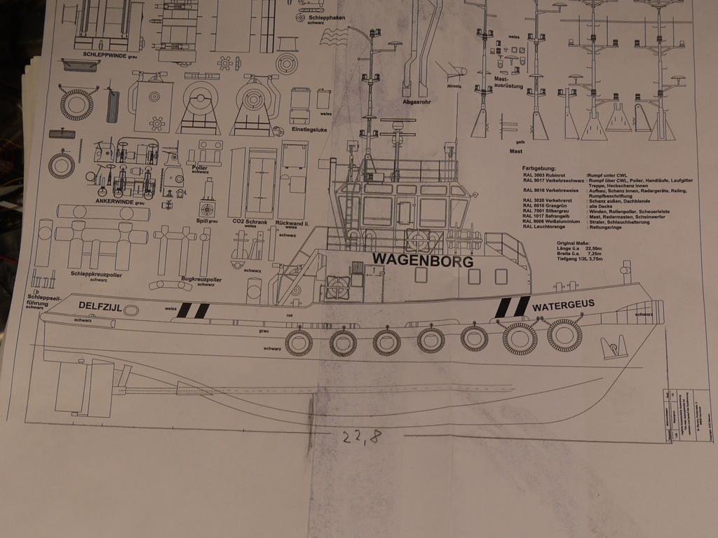 """Schlepper """"Watergeus""""  / 1:87 mit RC P1090811"""