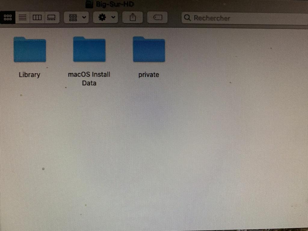 Message d'erreur pour installer macOS Big Sur Img_1912