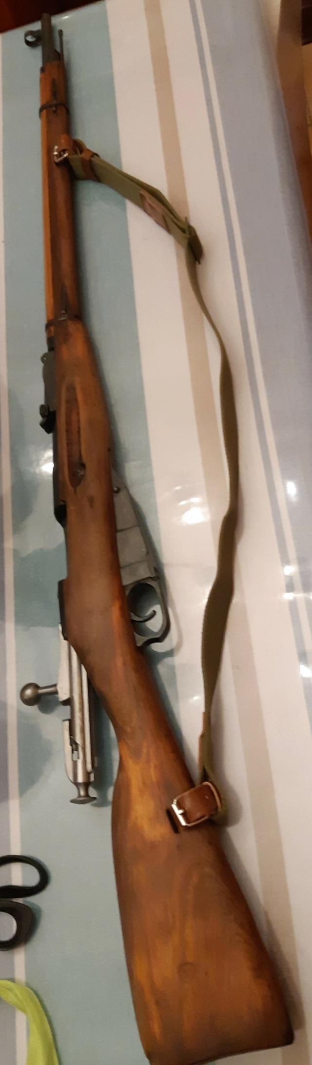 Mosin Nagant 91/30 de 1942 20200712