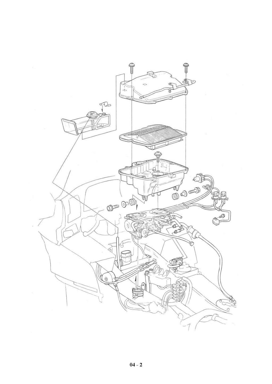 Goldwing 1500 SE (2000) : problème remontage support de filtre à air  - Page 2 Schema10