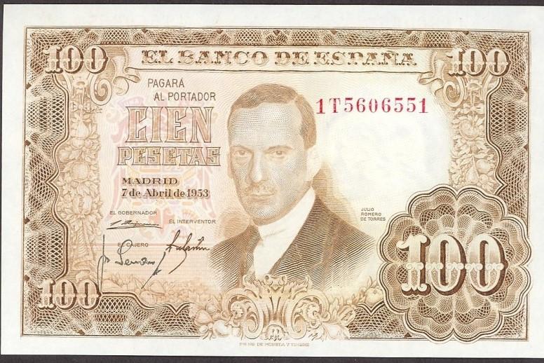 Investigación - Billetes de 100 pts 1953 Romero de Torres 100_pt13