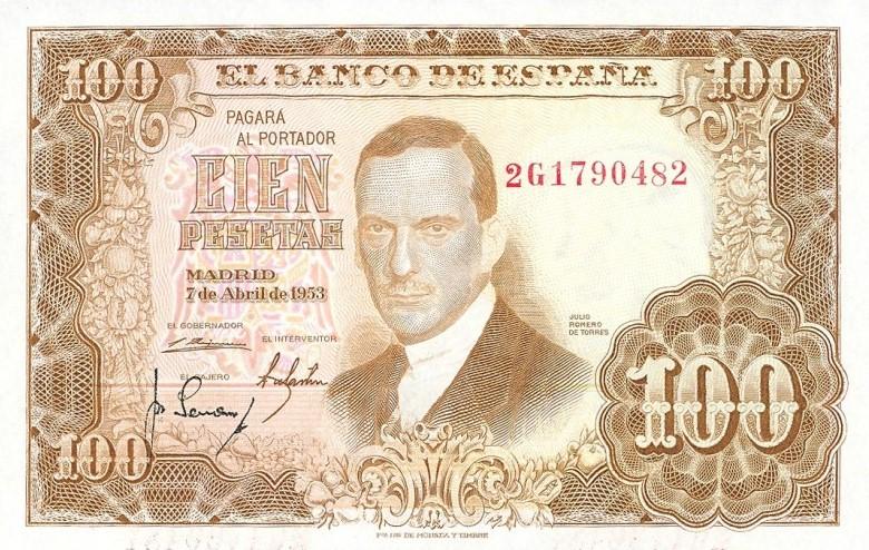 Investigación - Billetes de 100 pts 1953 Romero de Torres 100_pt14
