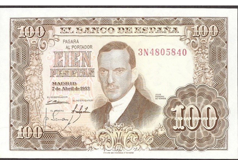 Investigación - Billetes de 100 pts 1953 Romero de Torres 100_pt22