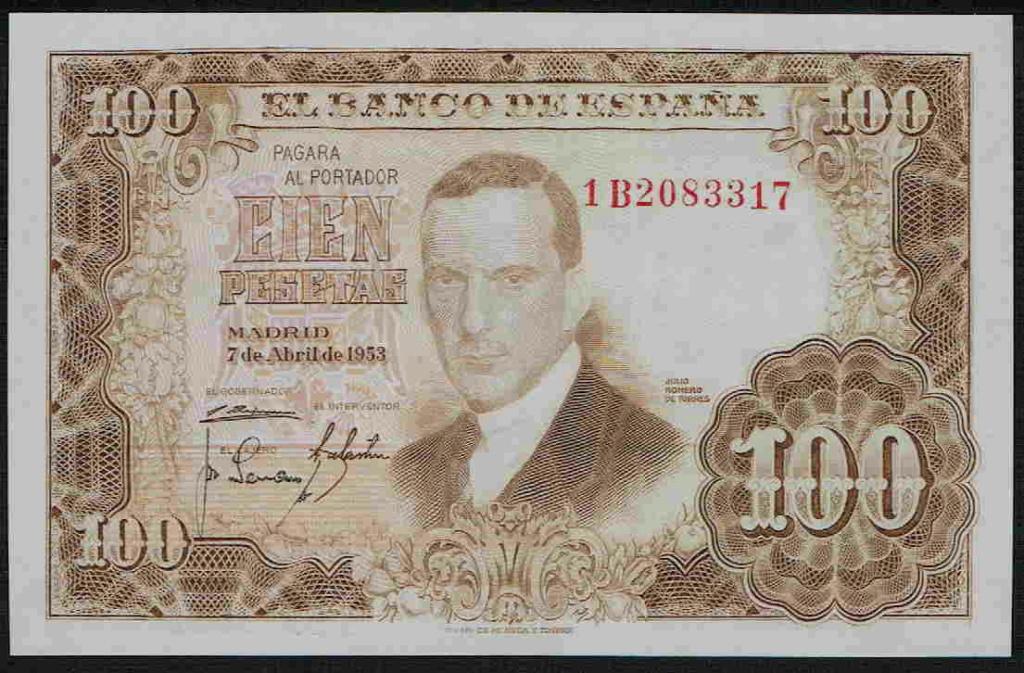 Investigación - Billetes de 100 pts 1953 Romero de Torres 100_pt23