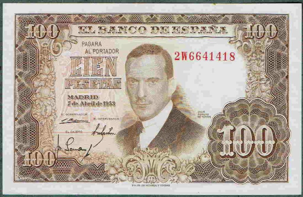 Investigación - Billetes de 100 pts 1953 Romero de Torres 100_pt26