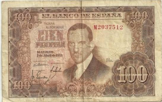 Investigación - Billetes de 100 pts 1953 Romero de Torres 100_pt28