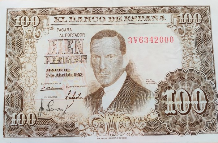 Investigación - Billetes de 100 pts 1953 Romero de Torres 100_pt36