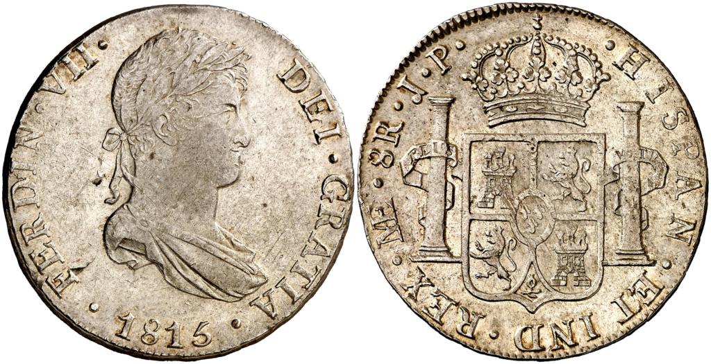 Fernando VII. Lima. JP. 8 reales de 1815 1815_f10