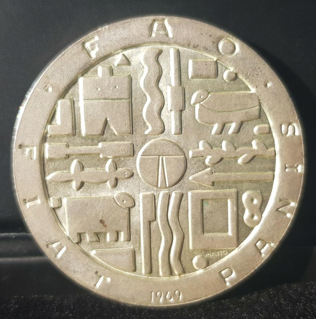 Uruguay •1969• 1000 Pesos Ensayo Proof 20201211