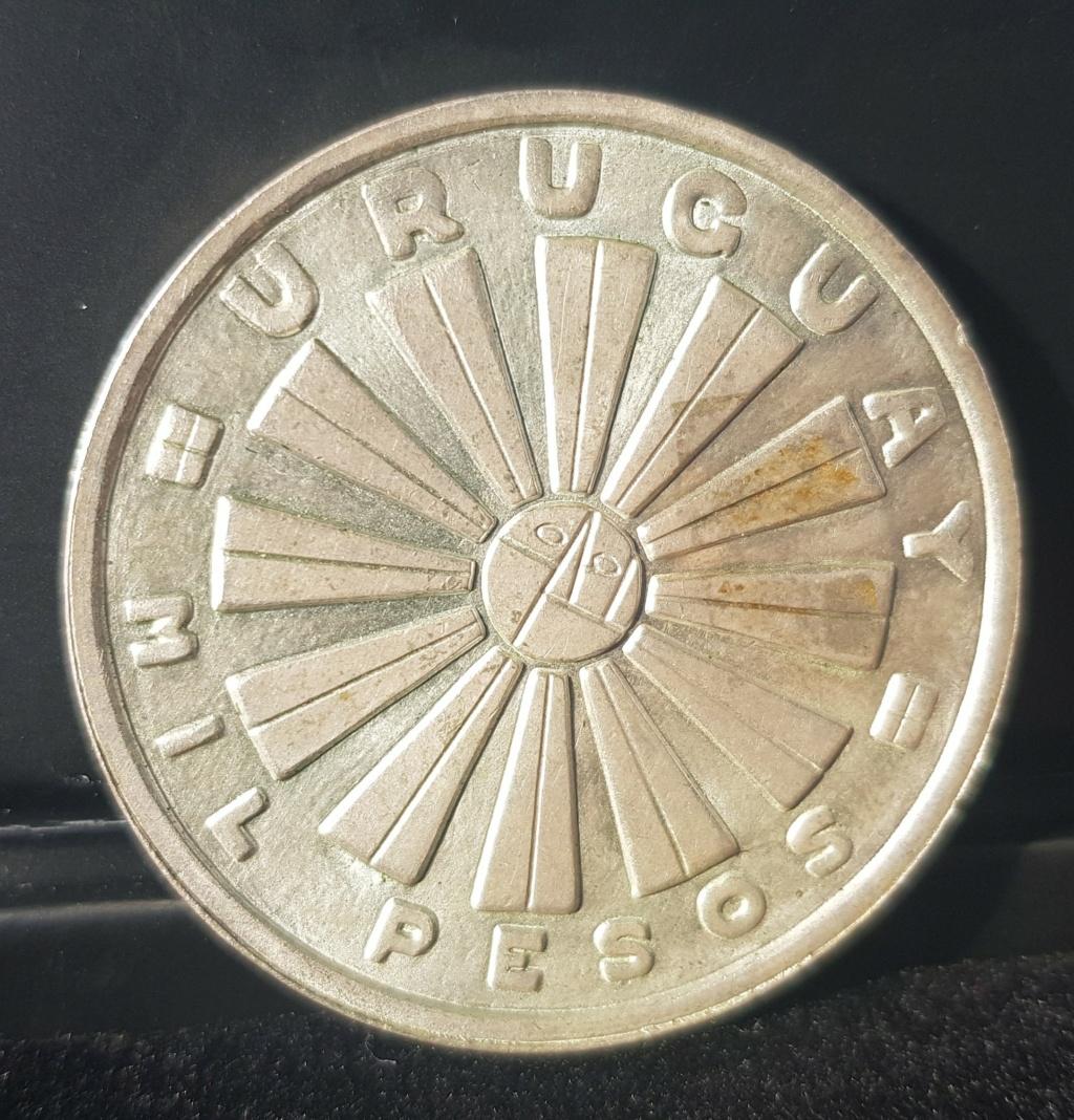 Uruguay •1969• 1000 Pesos Ensayo Proof 20201212
