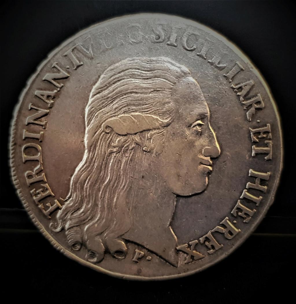 Fernando IV de Borbón 1796 120 Grana  REINO DE LAS DOS SICILIAS  20210227