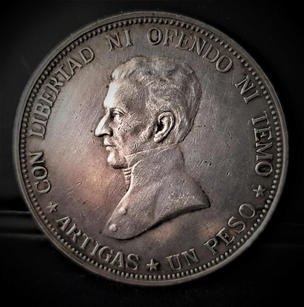 1 Peso de 1917 del Gaucho José Gervasio Artigas. República de Uruguay. 20210244
