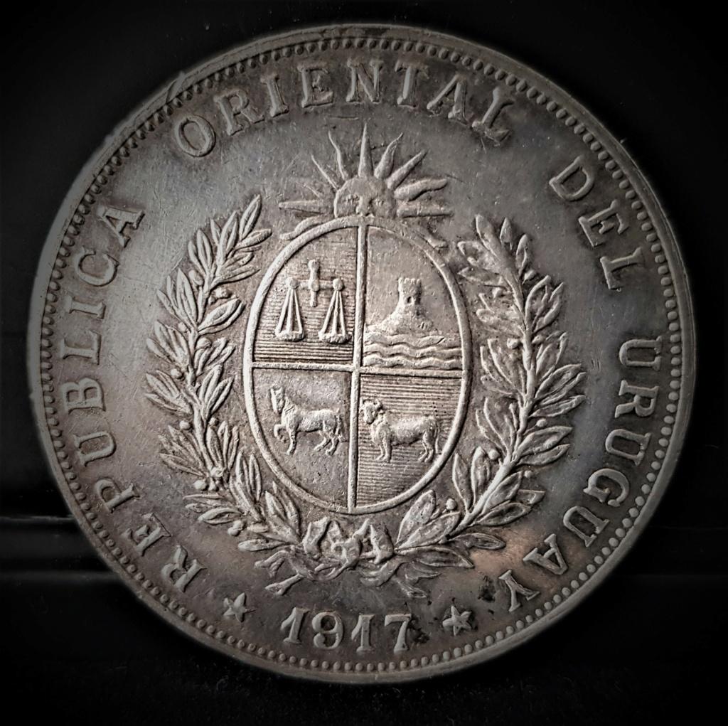 1 Peso de 1917 del Gaucho José Gervasio Artigas. República de Uruguay. 20210245