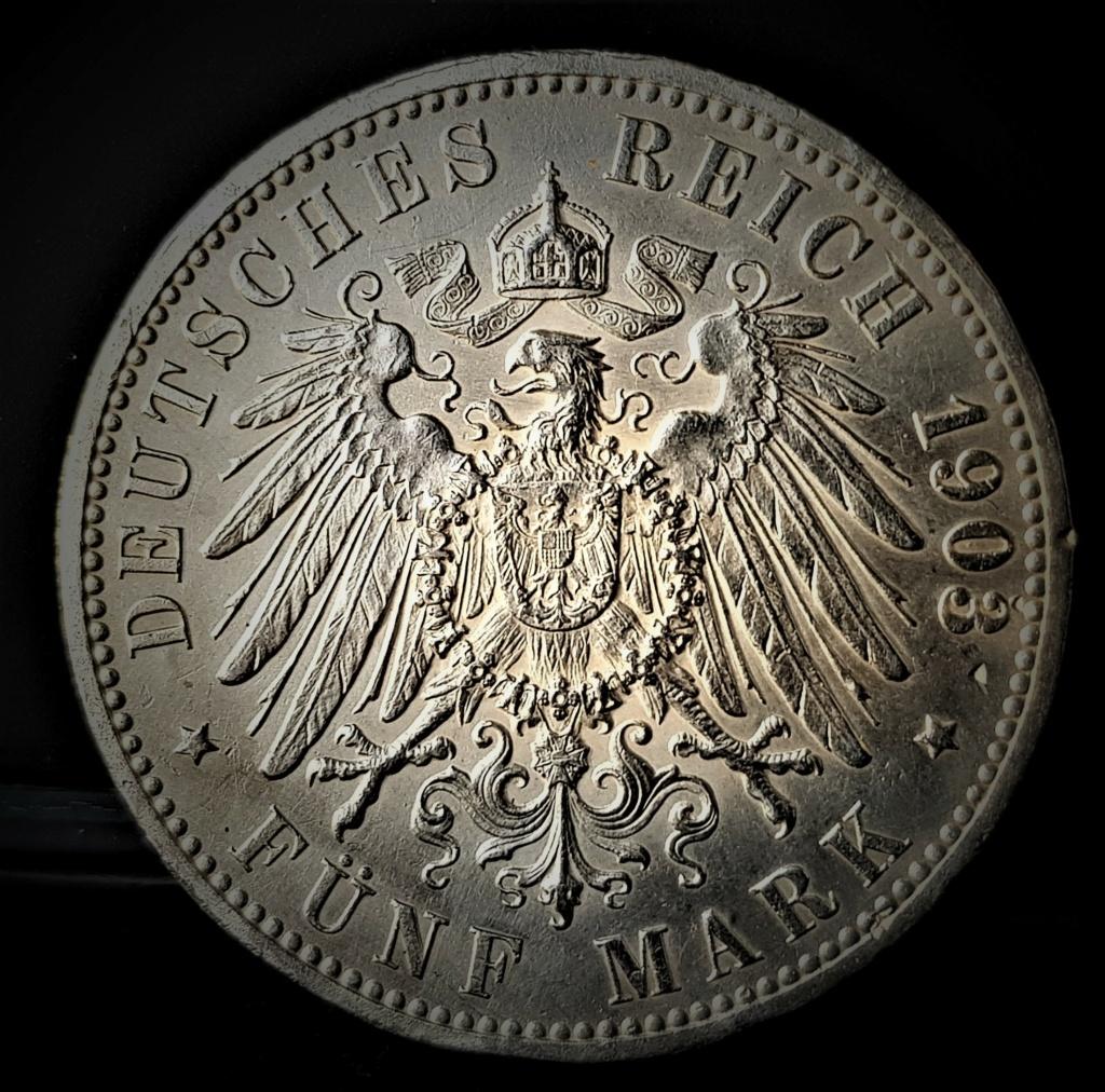 Hamburgo 5 marcos de 1903, dedicados a Gobierno Provisional 20210251