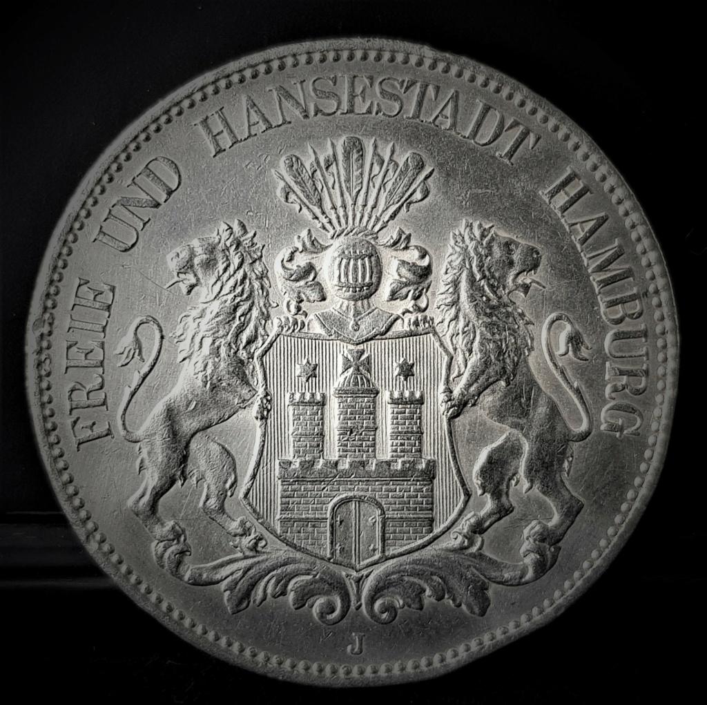Hamburgo 5 marcos de 1903, dedicados a Gobierno Provisional 20210255