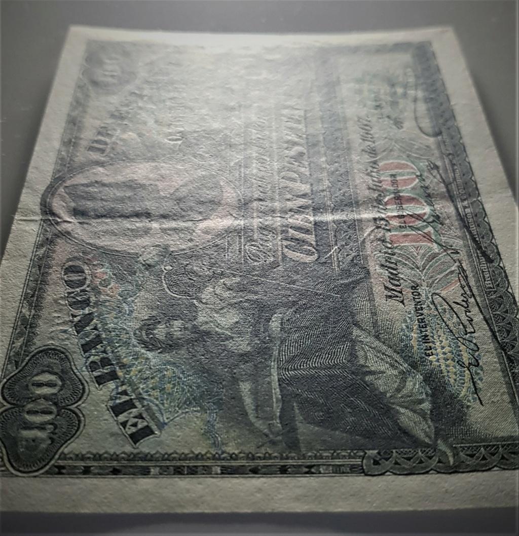 100 pesetas de 1907 Alegoría y Catedral de Sevilla 20210336