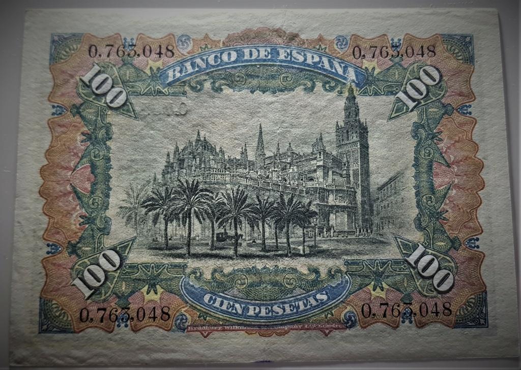 100 pesetas de 1907 Alegoría y Catedral de Sevilla 20210338