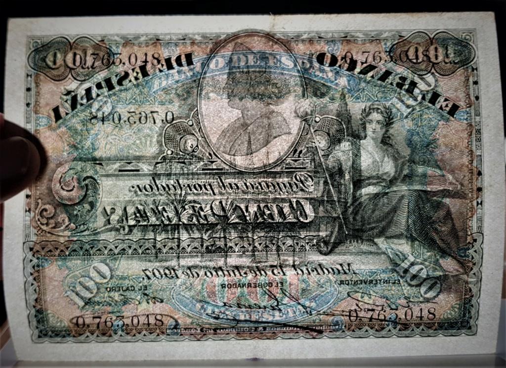 100 pesetas de 1907 Alegoría y Catedral de Sevilla 20210339