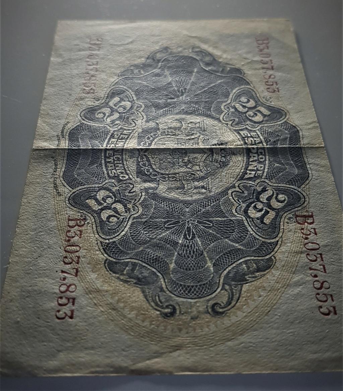 25 pesetas de Septiembre de 1906 20210369