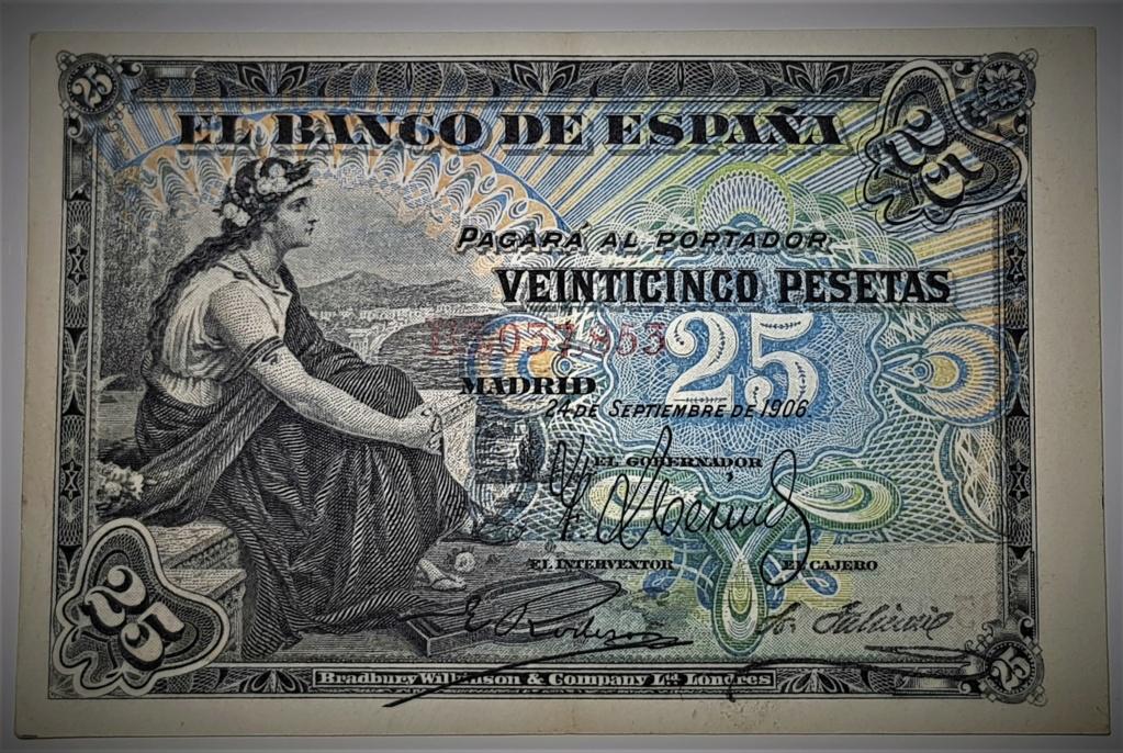 25 pesetas de Septiembre de 1906 20210370