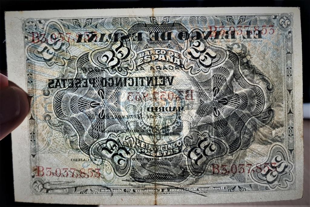25 pesetas de Septiembre de 1906 20210372