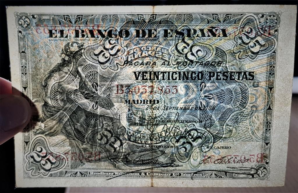 25 pesetas de Septiembre de 1906 20210373