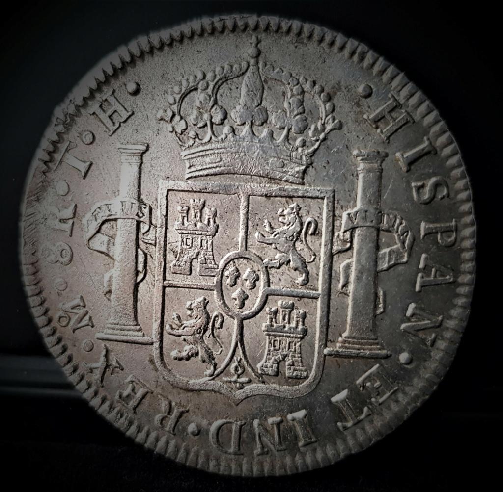 Fernando VII 8 Reales 1808 México T H. Busto Imaginario 20210379