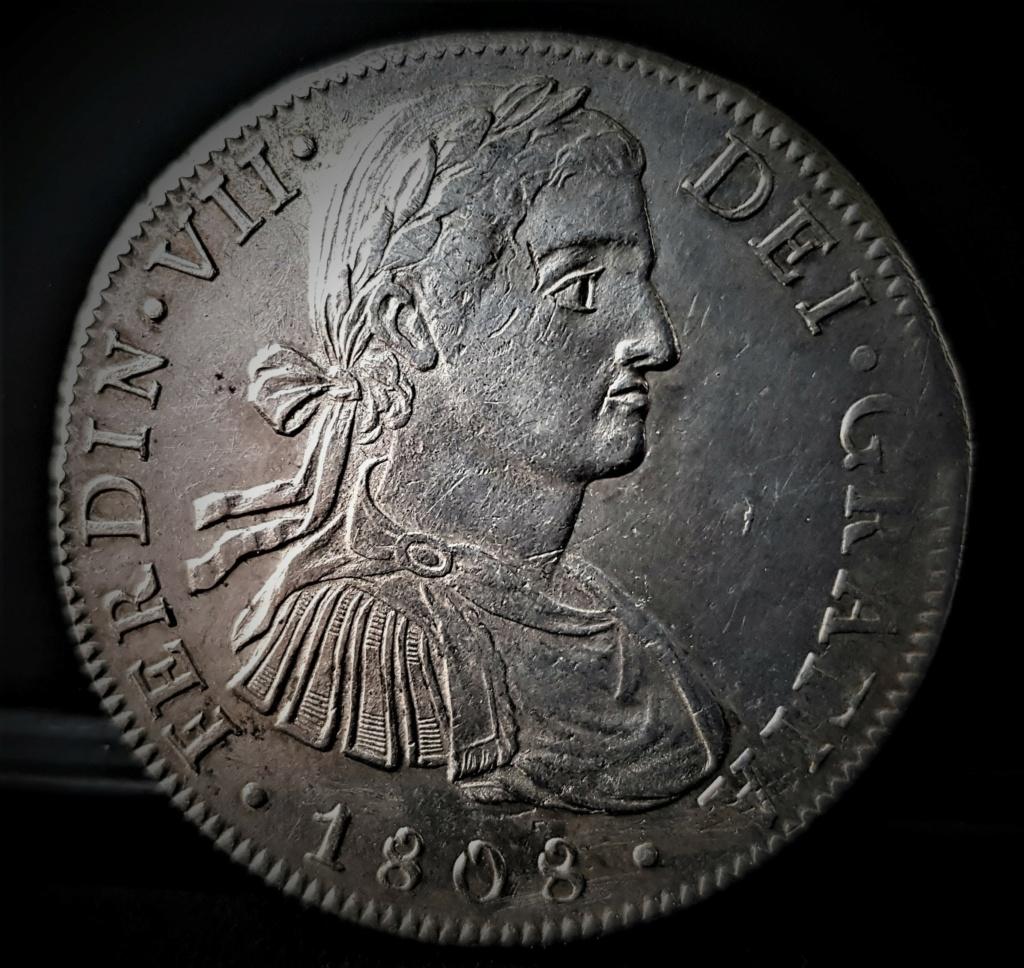 Fernando VII 8 Reales 1808 México T H. Busto Imaginario 20210380