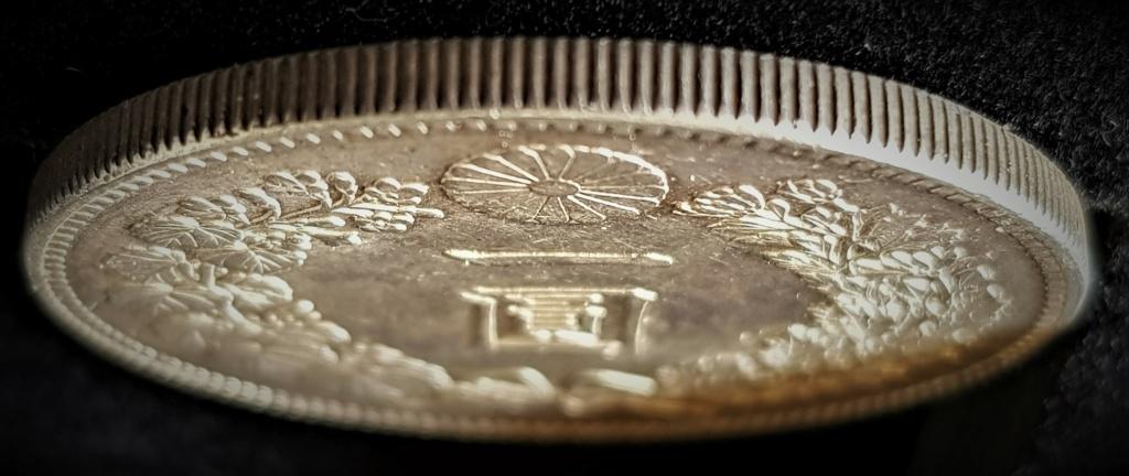1 Yen Japonés del 1889. (AÑO 22) 20210410