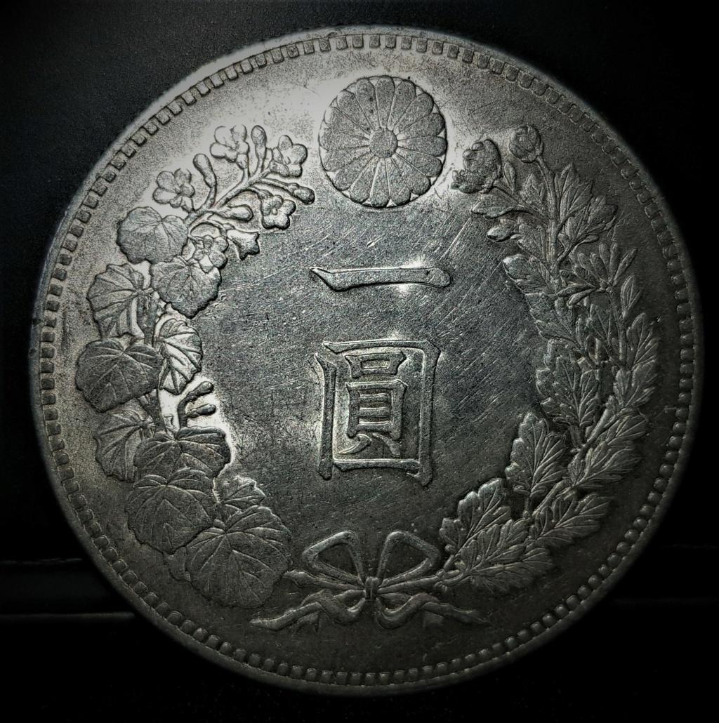 1 Yen Japonés del 1889. (AÑO 22) 20210412