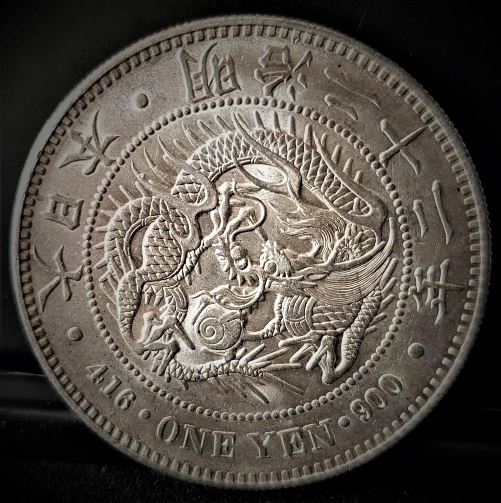 1 Yen Japonés del 1889. (AÑO 22) 20210413