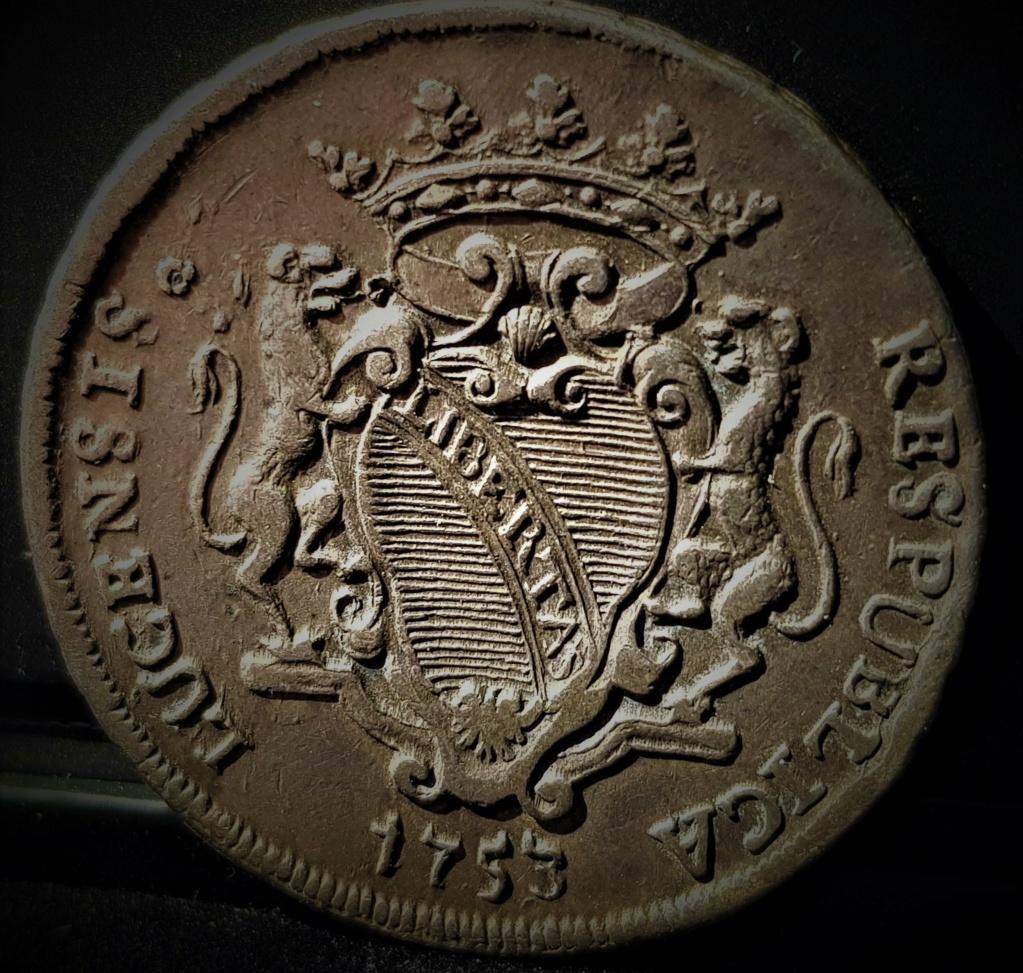 1 Escudo Italiano de Lucca de 1753 20210416
