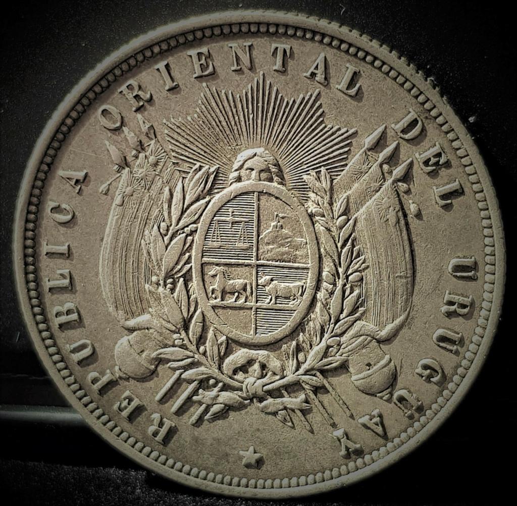 1 Peso Uruguayo de 1877 20210419