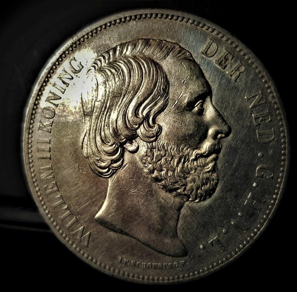 Holanda, 2-1/2 Gulden de 1874 de Wilhelm III 20210431
