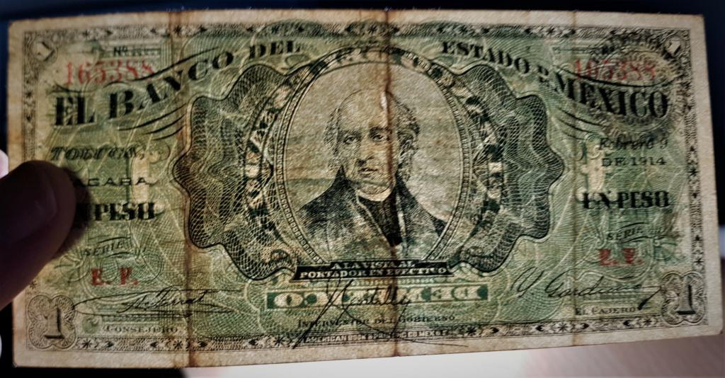 1 Peso de 1914 del Banco del Estado de México 20210514