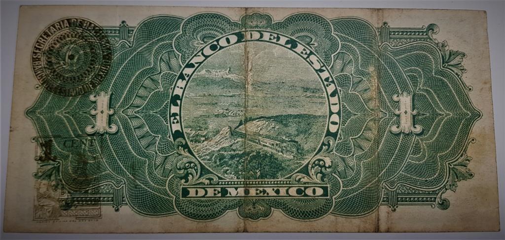 1 Peso de 1914 del Banco del Estado de México 20210515