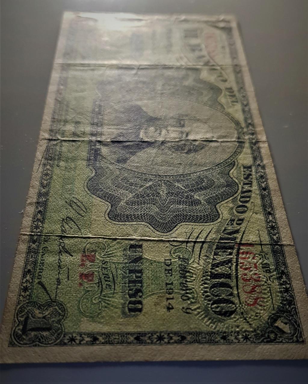1 Peso de 1914 del Banco del Estado de México 20210517