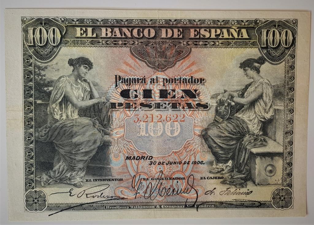 100 pesetas de Junio de 1906 S/S 20210530