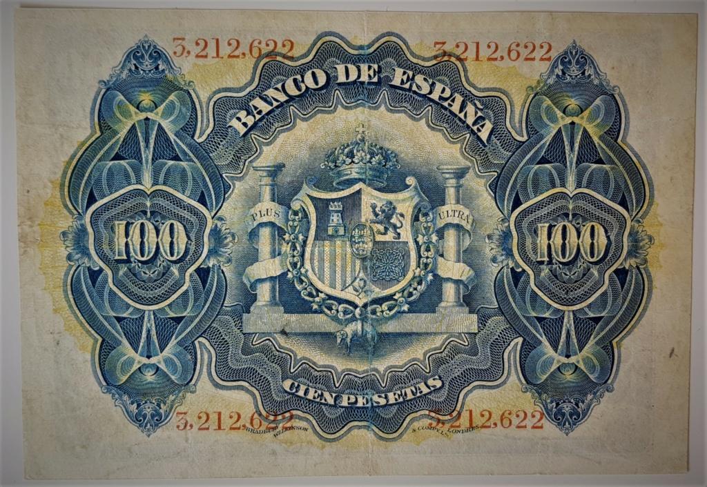 100 pesetas de Junio de 1906 S/S 20210531