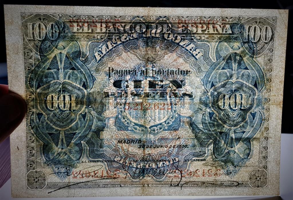 100 pesetas de Junio de 1906 S/S 20210534