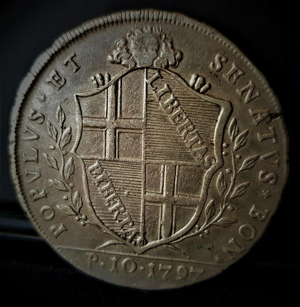 Scudo de 10 Paoli de Bologna de 1797 20210546