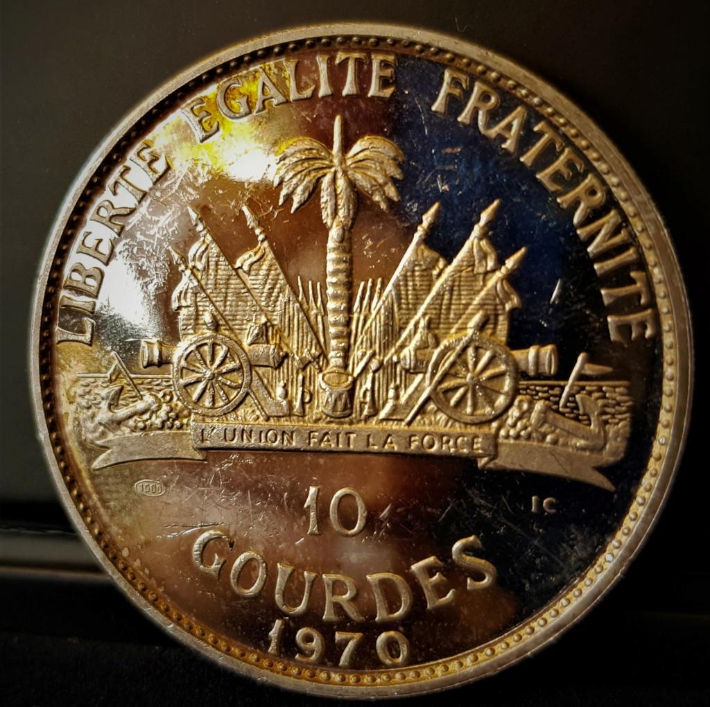 Haití 10 gourdes de 1970 20210551