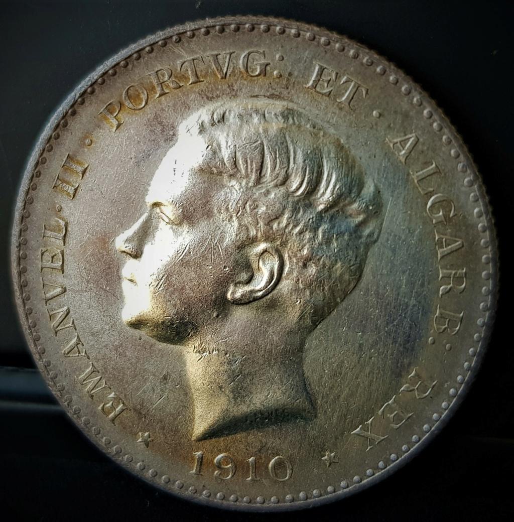 1000 reis de Manuel ll de Portugal de 1910 20210552