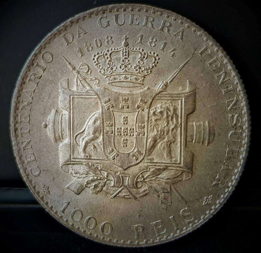 1000 reis de Manuel ll de Portugal de 1910 20210553