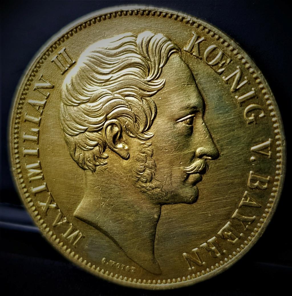ALEMANIA - BAVIERA 2 Gulden Maximilien II 1855 20210565