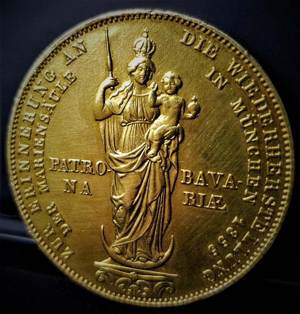 ALEMANIA - BAVIERA 2 Gulden Maximilien II 1855 20210566