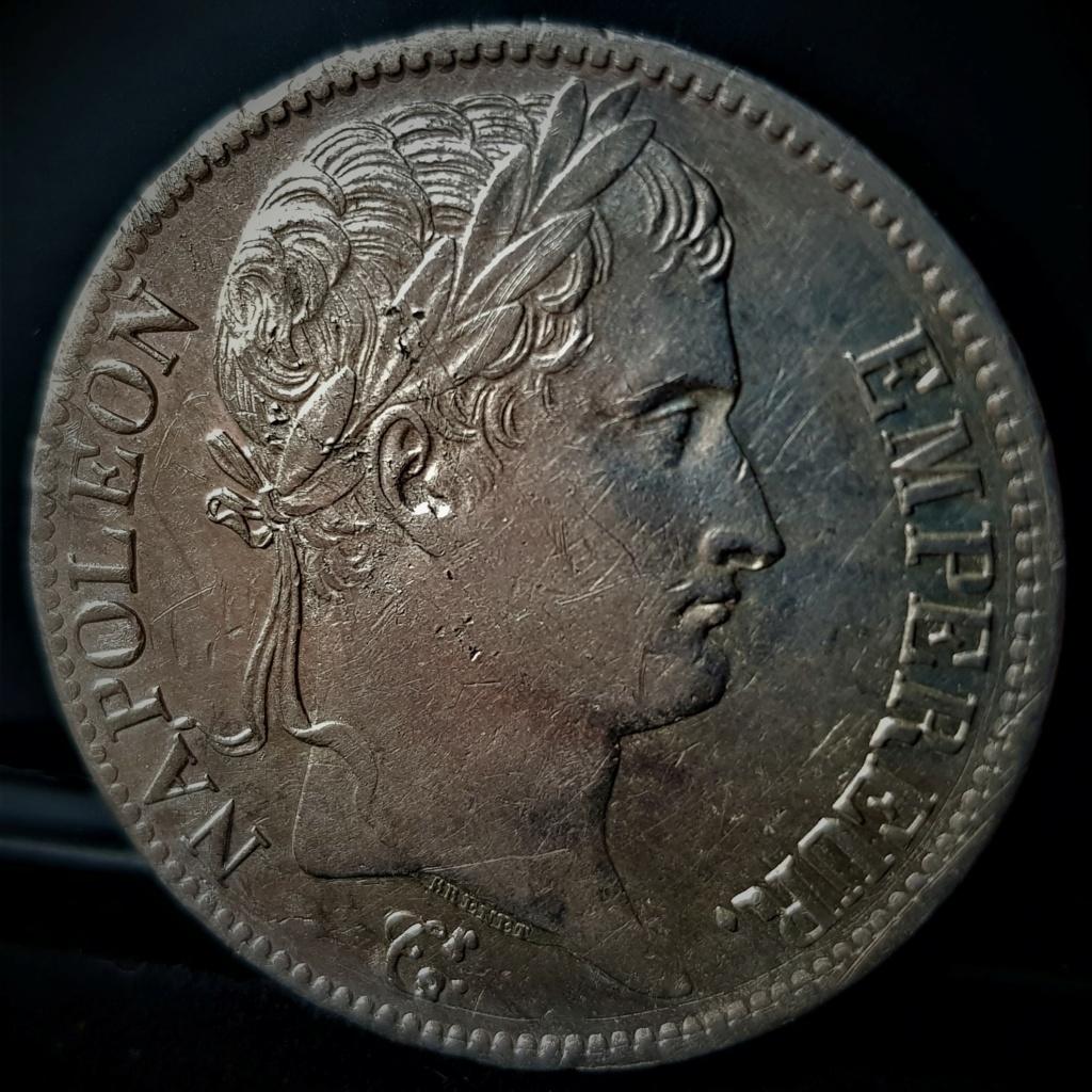 5 Francos de 1813 D (Lyon). Napoleón I. Francia. 20210571