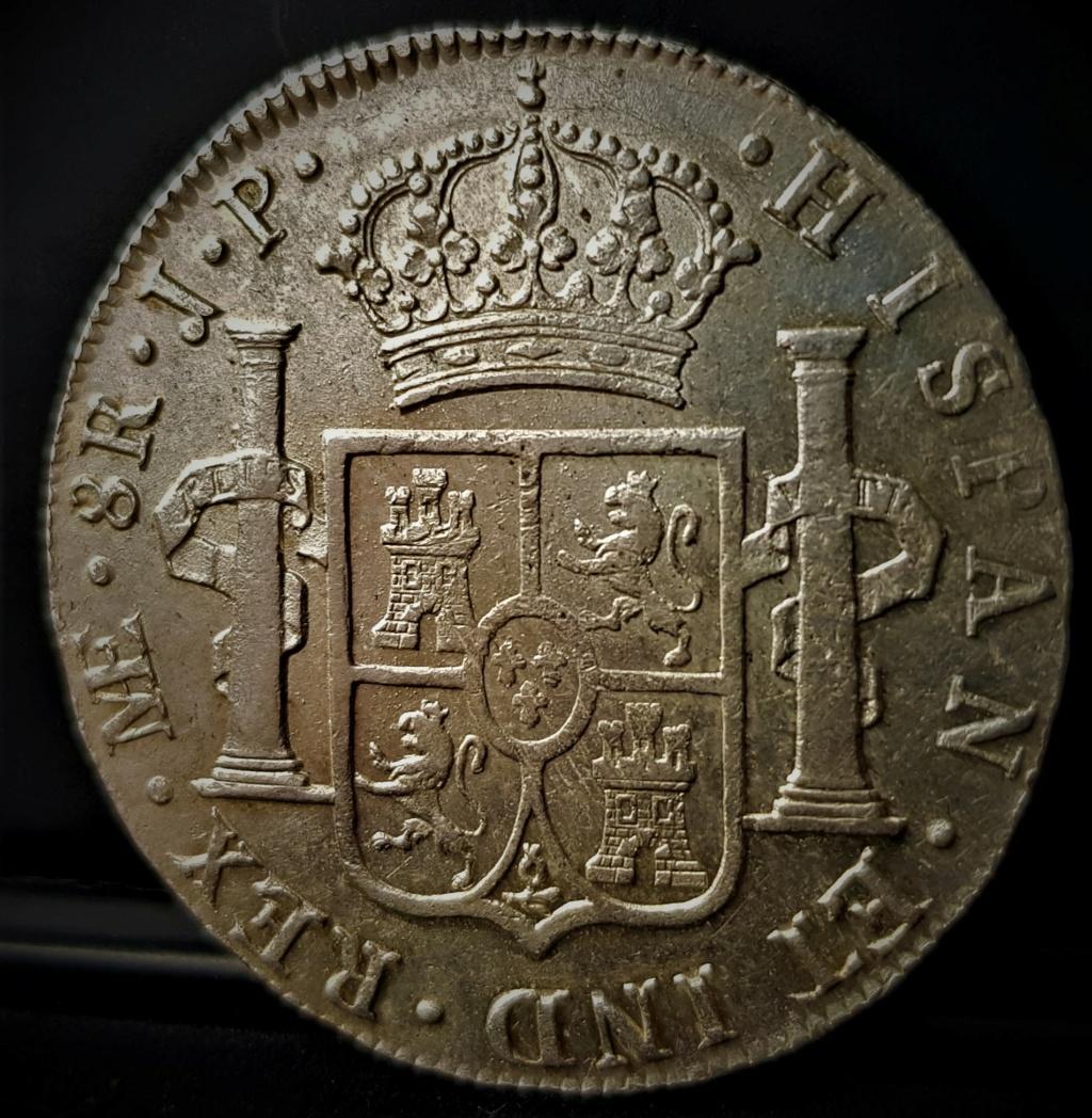 Fernando VII. Lima. JP. 8 reales de 1815 20210610